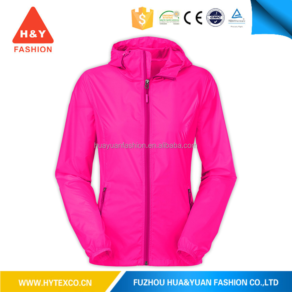 2016 fashion foldable cheap beach windbreaker