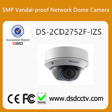 100% Original upgradable Hikvision 5MP IP Dome Camera DS-2CD2752F-IZS
