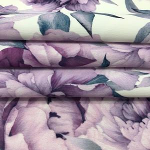 polyester dull satin crepe washed style fabric