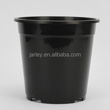 1 gallon black plastic nursery cheap plant pots
