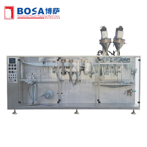 Vertical Duplex Mixed Preserved Fruit Packing Machine for Drinking