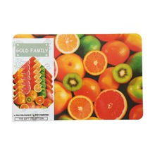 cheap promotional custom PP plastic placemats & coaster set