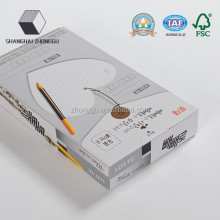 Snacks Packaging Food Grade White Box Paper Box
