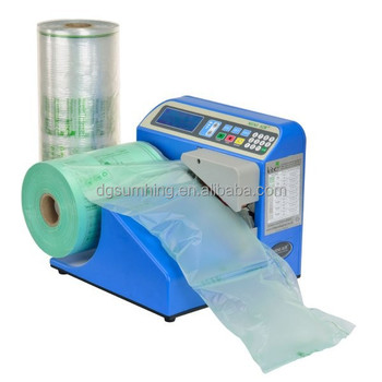 plastic air bag on roll