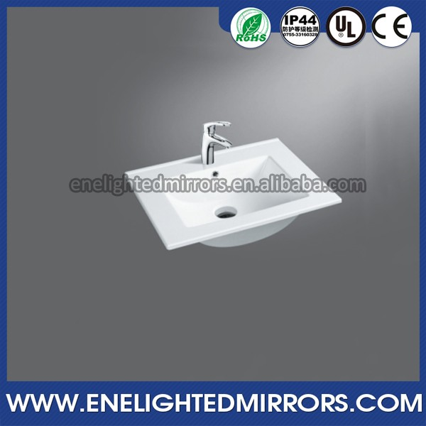 TOP High quality Triangle Shape Above Counter Wash Hand round toilet wash basin