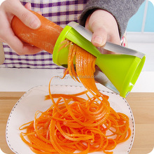 Quickly create noodles made fruits spiralizer veggies 4 blade vegetable cutter models