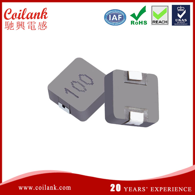 Alloyed powder large smd power inductor 10uh
