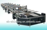 Fully automatic screen printing machine for T-shirt, silk screen press machine