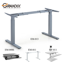 Electric Height rising Adjustable steel Table lift Base Leg for Sit to Stand up standing computer motorized Desk motor frame
