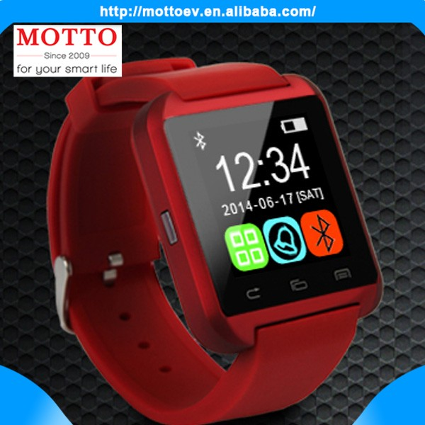 Men Wristwatches Bluetooth U8 3g android smart watch men's watch