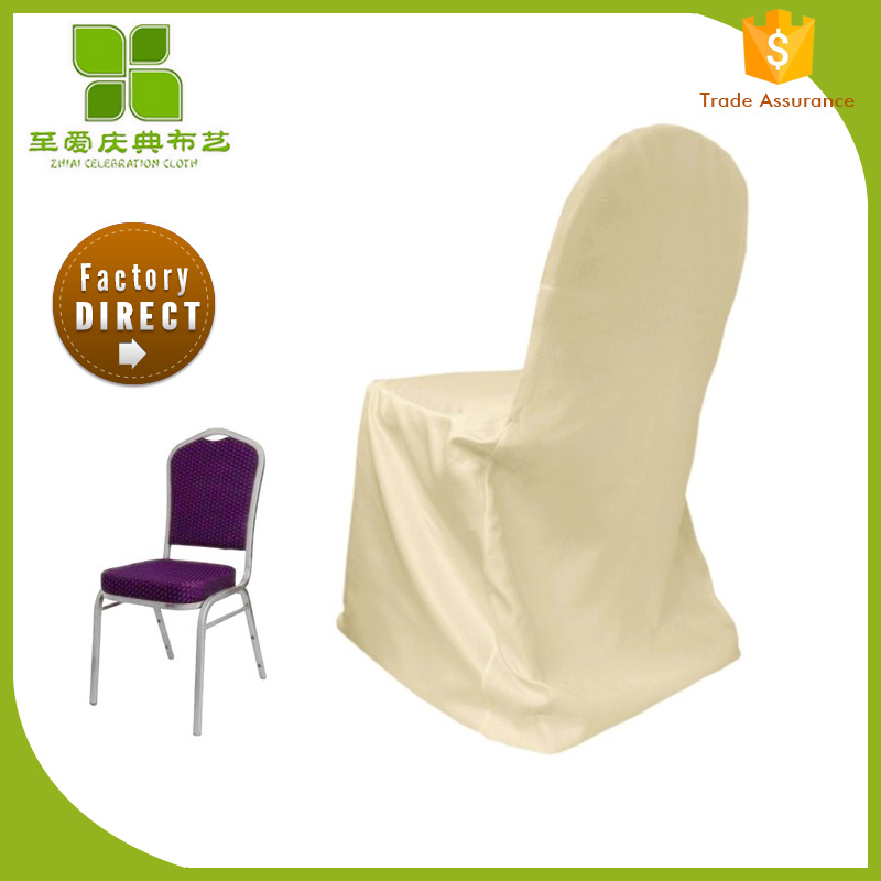 satin wedding garden chair cover