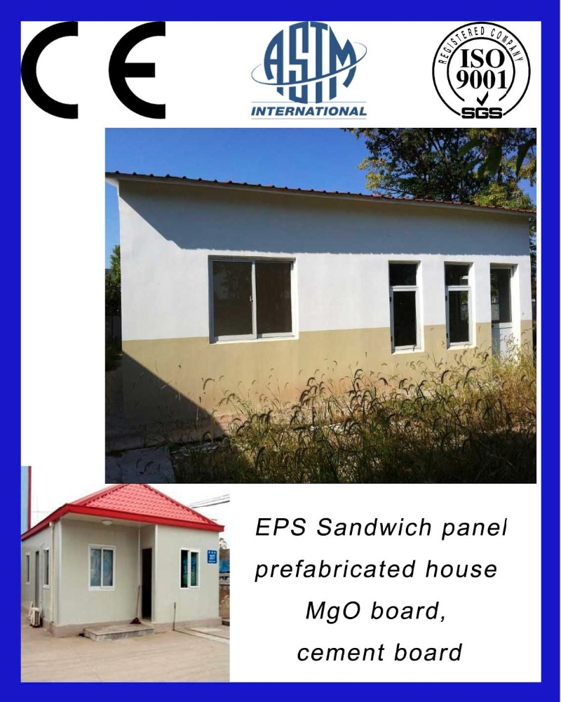 EPS sandwich panel prefabricated house prices