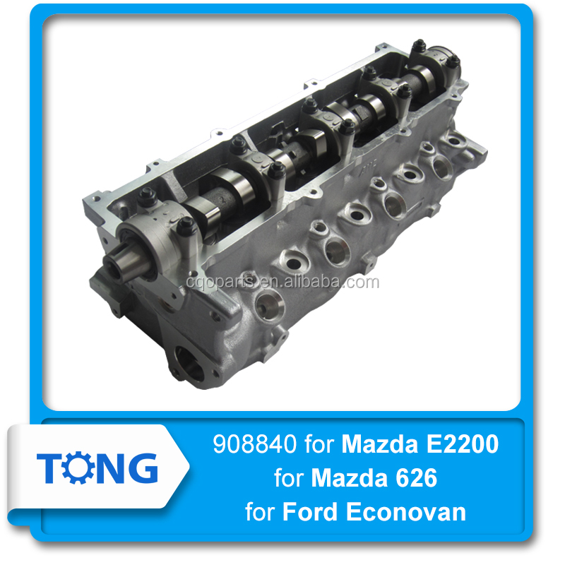 908840 R26310100H R26310100J R2Y410103A assy cylinder head for Ford Econovan for Mazda E2200 626 engine R2 RF