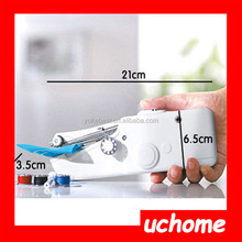 UCHOME Mini Handy Stitch Handheld Electric Sewing Machine