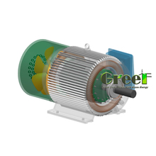 2kw 60rpm Permanent Magnet Generator For Hydro Project , Maintenance Free Alternator, Long Lifespan Magnet Generator