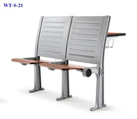 No.WT-S-21 Student desk and chair set for sale