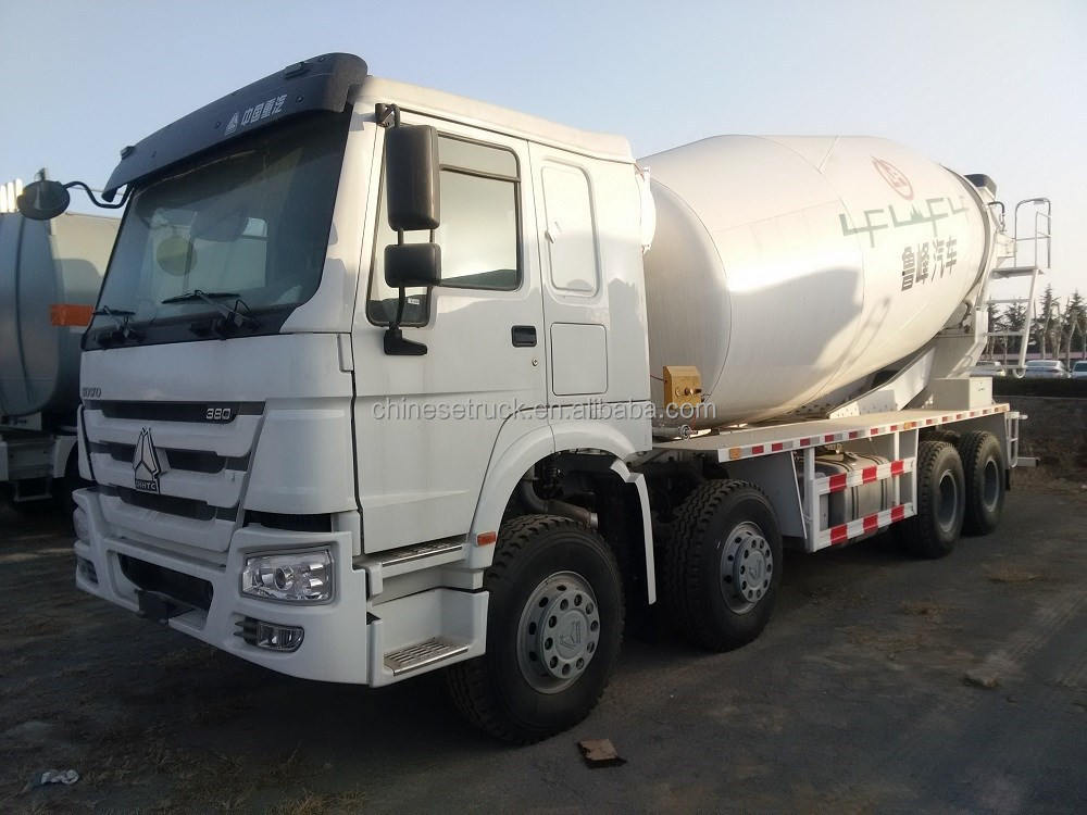 congo 12 wheels HOWO cement mixer truck 336hp/371 16m3 LHD