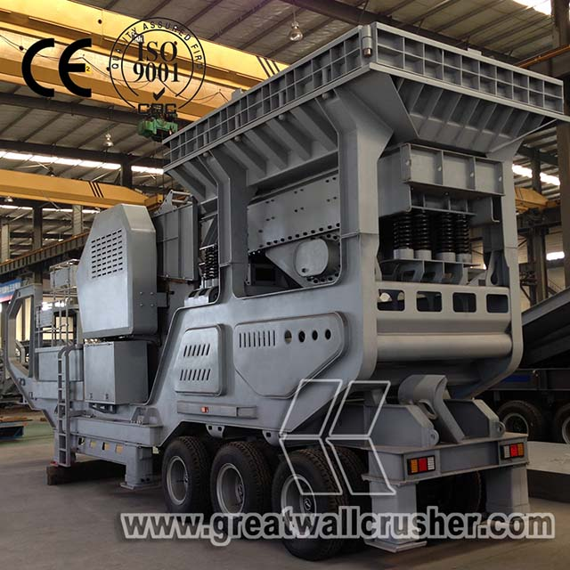 Fast delivery Good quality 8-15 t/h small mobile diesel crusher for sale Philippines