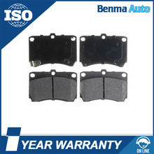 Aspire Auto Parts KK3703323Z/K0BA23328Z/B5Y83323Z Semi-metal Brake pads For Aspire / Rio/Protege