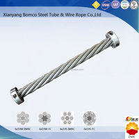 Steel wire rope for pumping unit & hoisting rigging & winch BOMCO