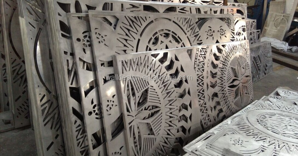 Decorative Metal Wall Covering Panels Used For Building Exterior Decoration