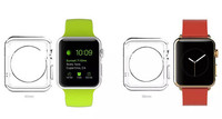 Soft Crystal Clear Slim TPU Case Cover for Apple Smart Watch