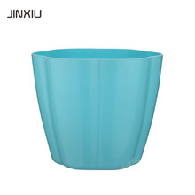 Cheap desktop pots Mini PP plastic desktop plant flower pot planter