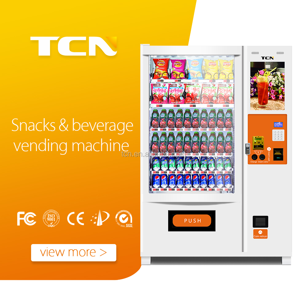 TCN-D720-10C(22SP) SODA/drink vending MACHINES FOR SALE