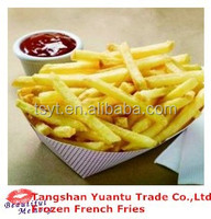 Frozen French Fries/Frozen Potato Chips Grade A Quality From China