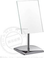 multidirectional square desktopmakeup mirror with holder