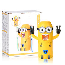 Creative wash kits minion toothbrush holder best brands consumer products