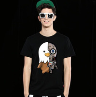 fashion summer men O-neck short sleeve overseas t shirts tee shirts printing wholesale