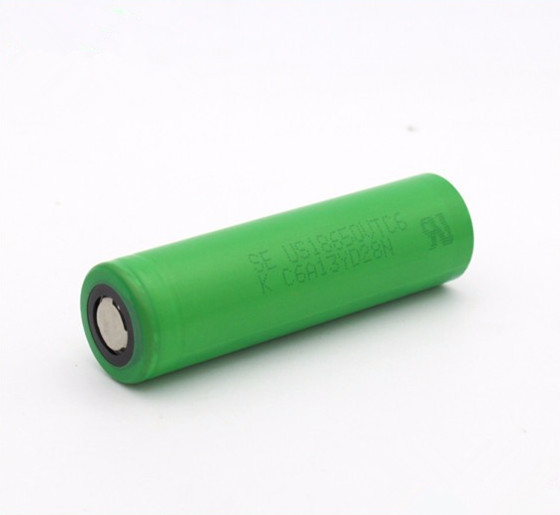 2017 Rechargeable battery US18650V 3.7v 18650 VTC6 3000mah Li-ion Battery
