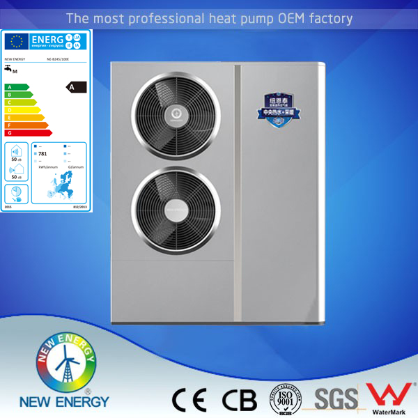220v air to water heat pump 8kw dc inverter heat pump all in one heat pump