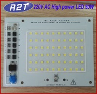 220V AC IC Controlled Driverless PCB Assembly 50W ac LED SMD LED Module