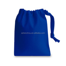 Fashion hot sale custom organic cotton cloth canvas drawstring bag small fabric bags wholesale
