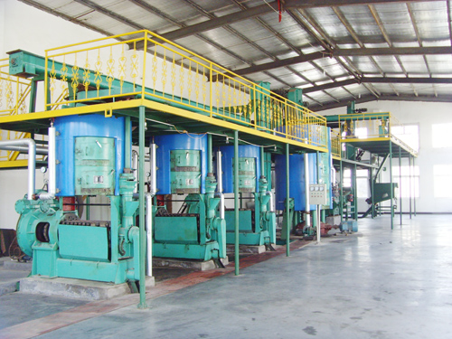 10-200TPD Sunflower/soybean/jatropha oil press machine
