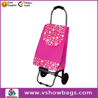 600 D polyester promotional trolley duffel bag school trolley bags for boys