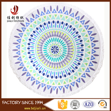 Multifunctional Sexy 150cm 20 Pcs Round Shape Beach Towels