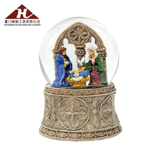 New Design Custom Nativity Religious Snow Globes Gift
