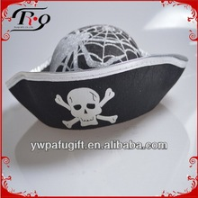 pirate hat with spider web