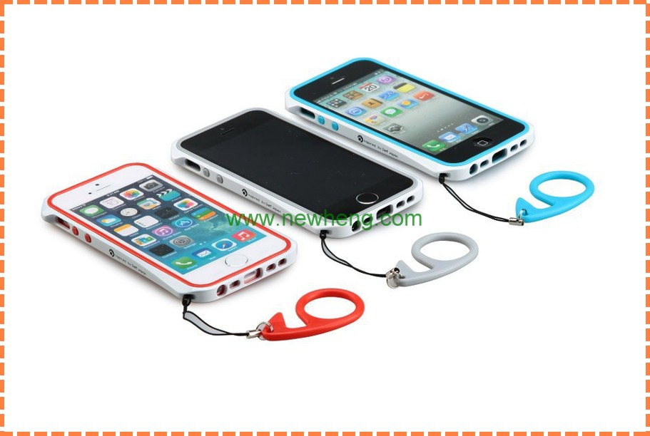 Hot sale metal case with tpu bumper for iphone5s