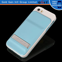 Double Colors Metal Slide Case For iPhone 5S, Slide Case of Metal Material With Two Colors For iPhone 5S