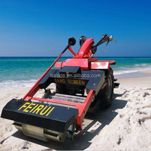 beach cleaning machine for inflied soil cleaner and stone picker