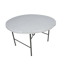 D152cm Plastic Outdoor Round Folding BBQ Dining Table