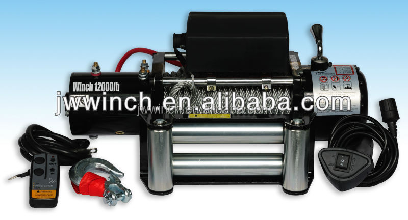 12v / 24v winches for off-road