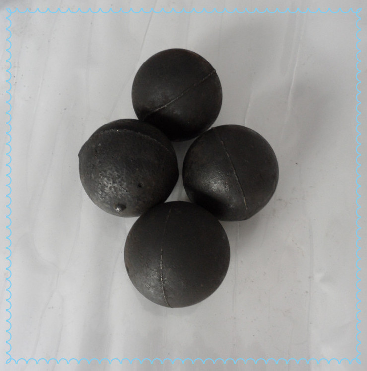 high quality raw material cast iron grinding balls