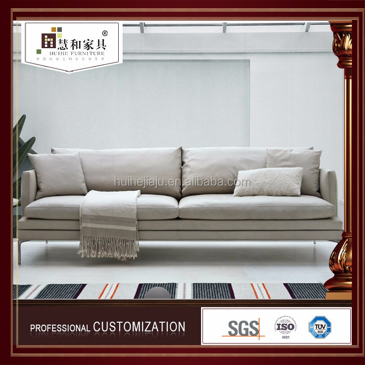 Professionally Customized Modern White Sectional Sofa,Sofas Modernos