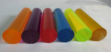 acrylic rod with many colors
