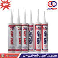 300ml Weatherability Acetic Water Resistant Silicone Sealant